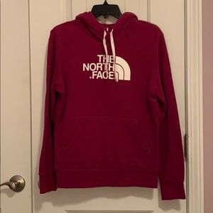 Magenta The North Face Hoodie